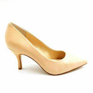 Vince Camuto Rachella Leather Mid Heel Pump 8W